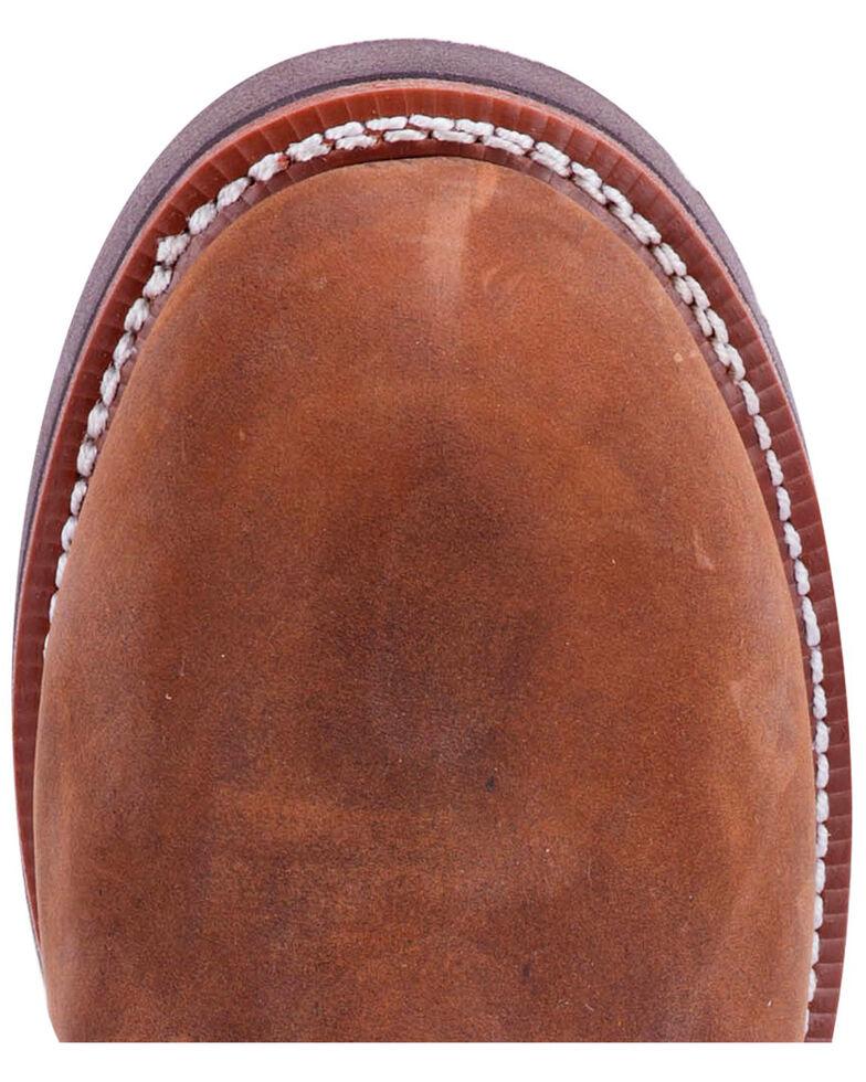 Dan Post Men's Sky Walker Western Work Boots - Steel Toe, Brown, hi-res