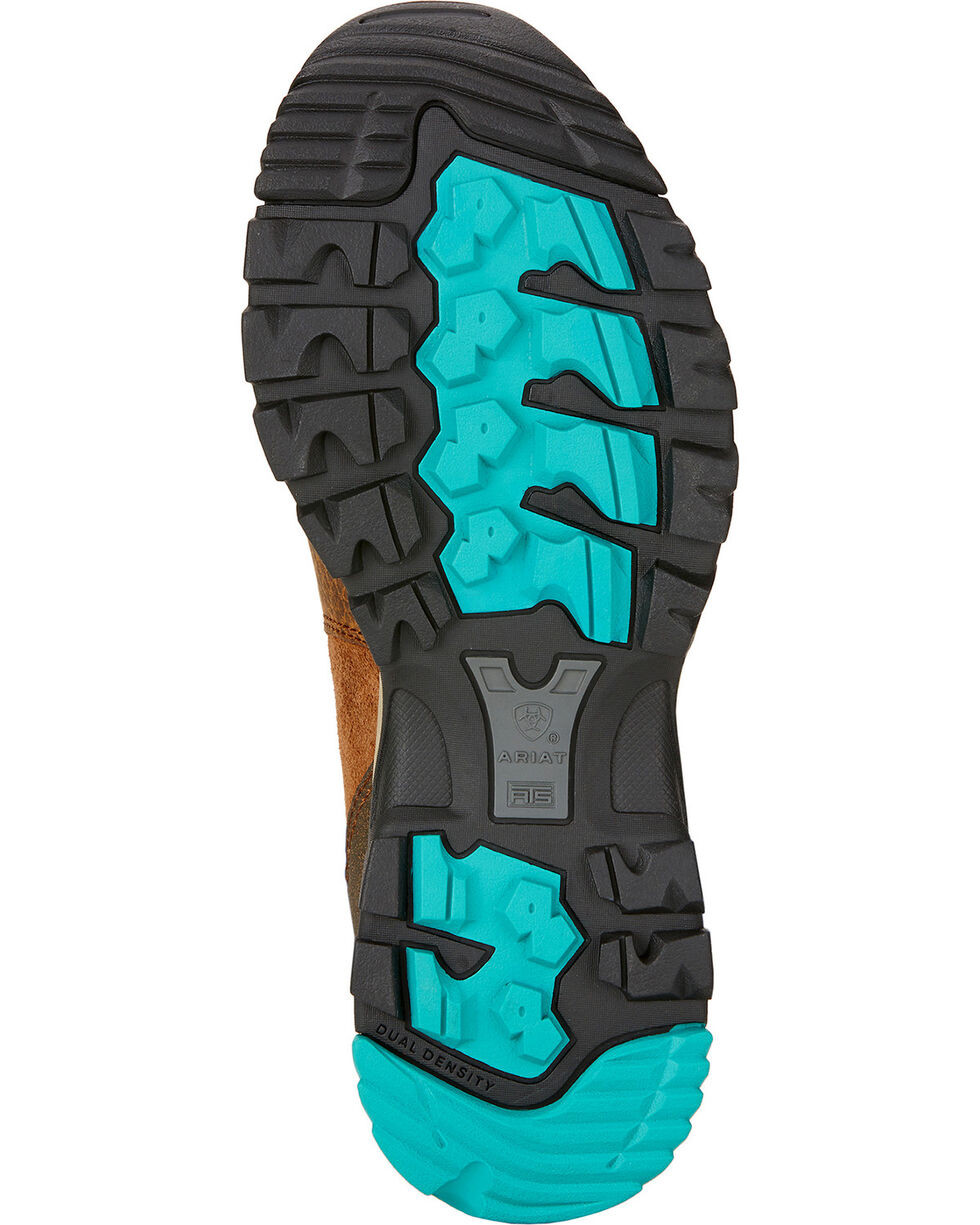 Ariat Skyline Mid GTX Hiking Boots - Turquoise Sole , Taupe, hi-res