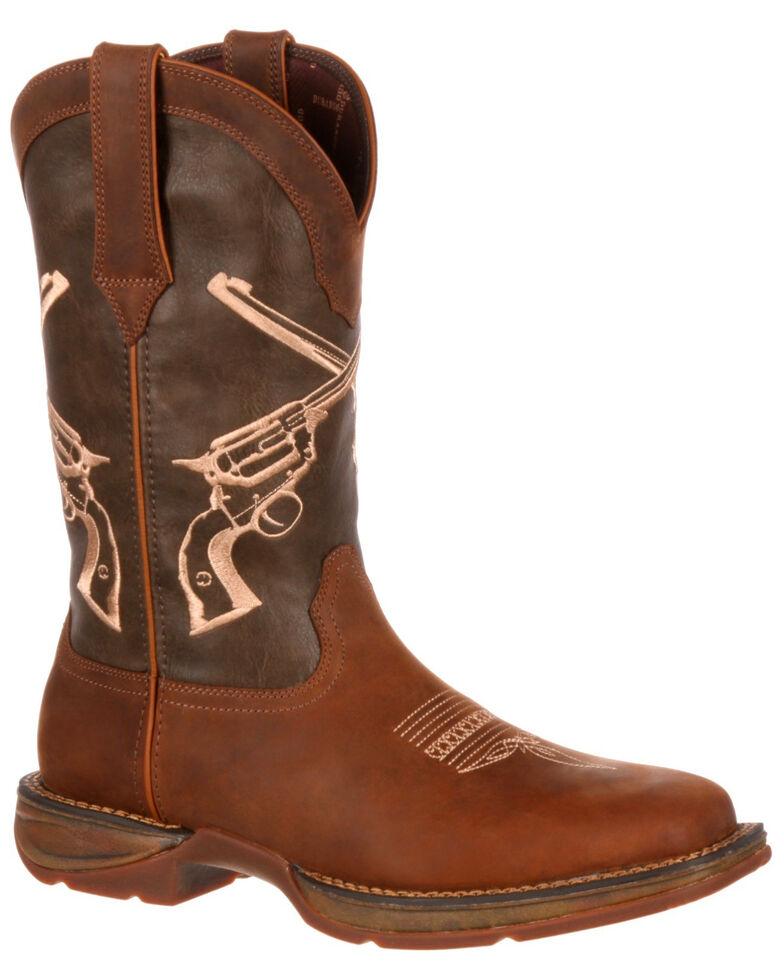 082ef8f748f Durango Men's Rebel Crossed Guns Western Boots - Square Toe