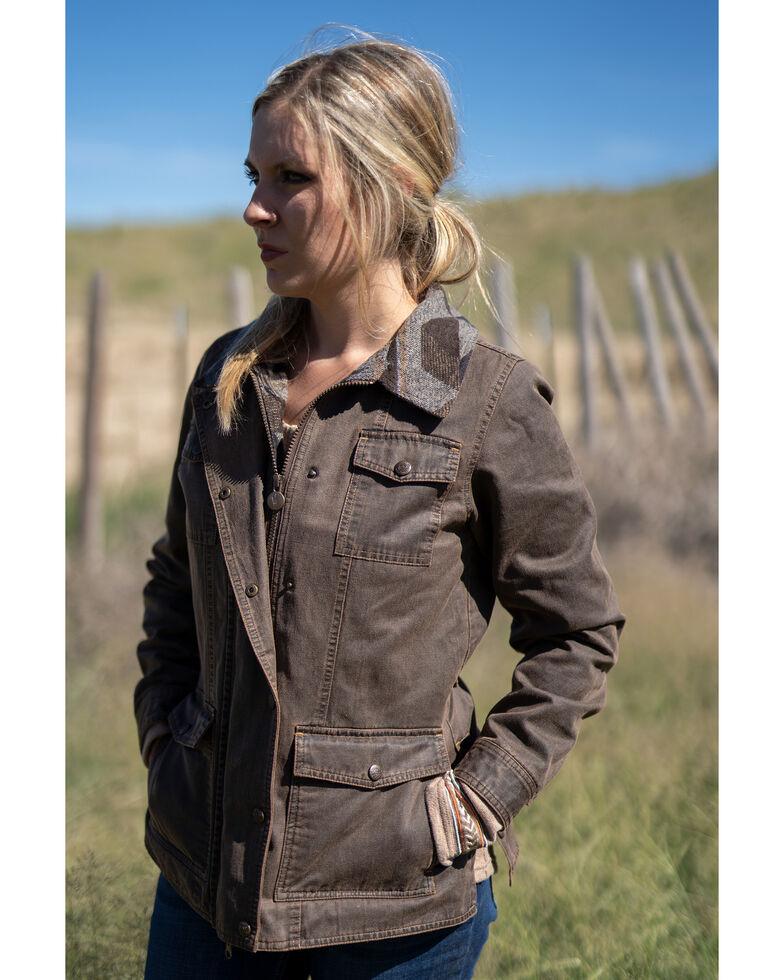 Outback Trading Co. Women's Broken Hill Jacket, Brown, hi-res