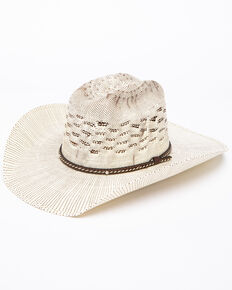 Cody James Men's Bangora Wide B Twist Cord Cowboy Hat, Natural, hi-res