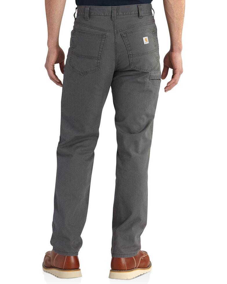 Carhartt Men's Rugged Flex Rigby Five-Pocket Jeans, Charcoal Grey, hi-res
