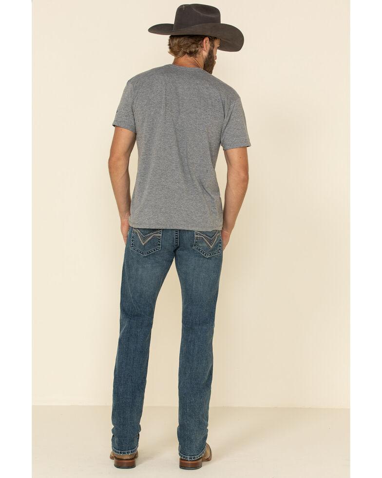 Rock 47 By Wrangler Men's Magnolia Stretch Slim Straight Jeans , Blue, hi-res