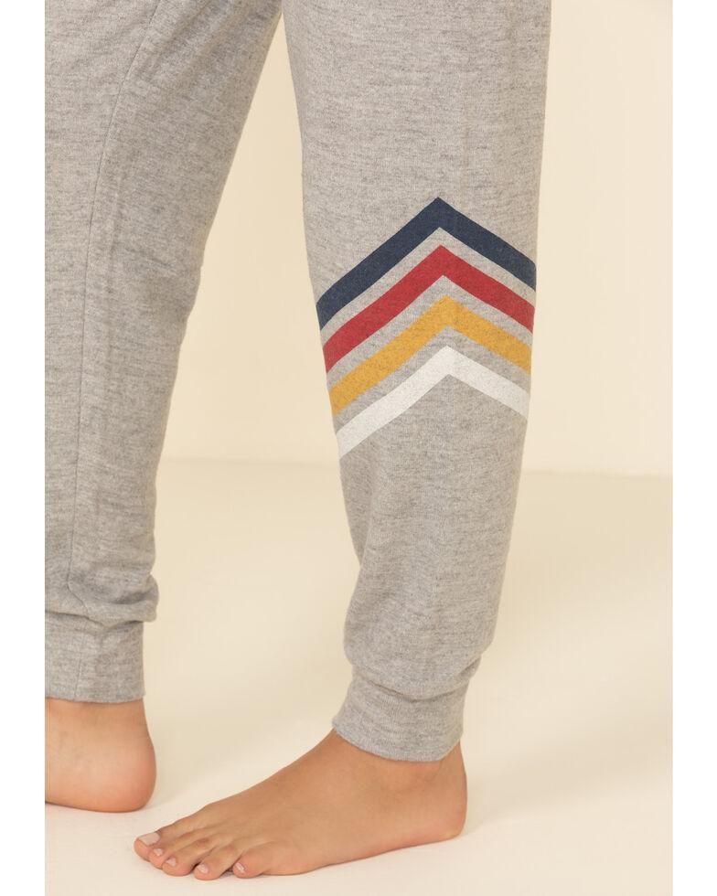 PJ Salvage Women's Striped Pants, Grey, hi-res