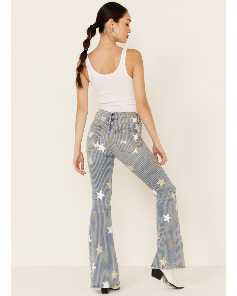 Driftwood Women's Farrah Flare Leg Jeans, Multi, hi-res