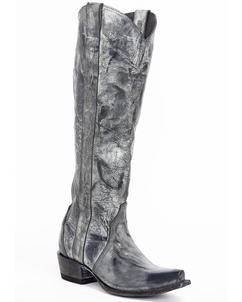 Idyllwind Women's Warrior Western Boots - Snip Toe, Black, hi-res