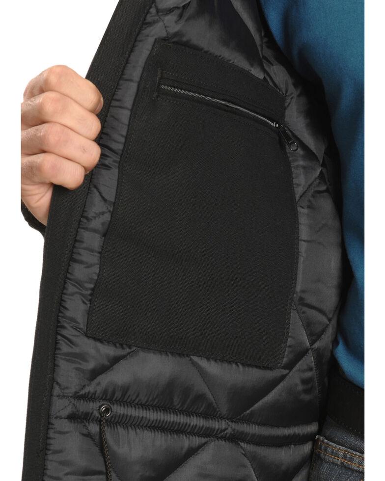 Carhartt Men's Traditional Duck Zip-Front Work Jacket, Black, hi-res