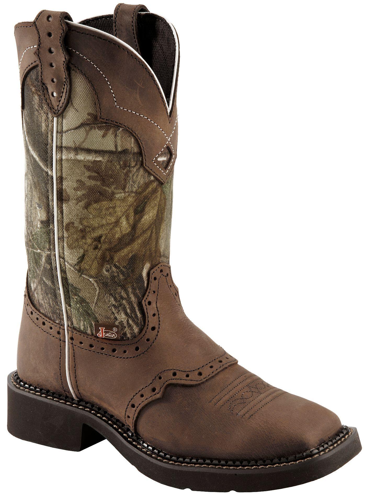 Justin Gypsy Women S Raya Camo Cowgirl Boots Square Toe