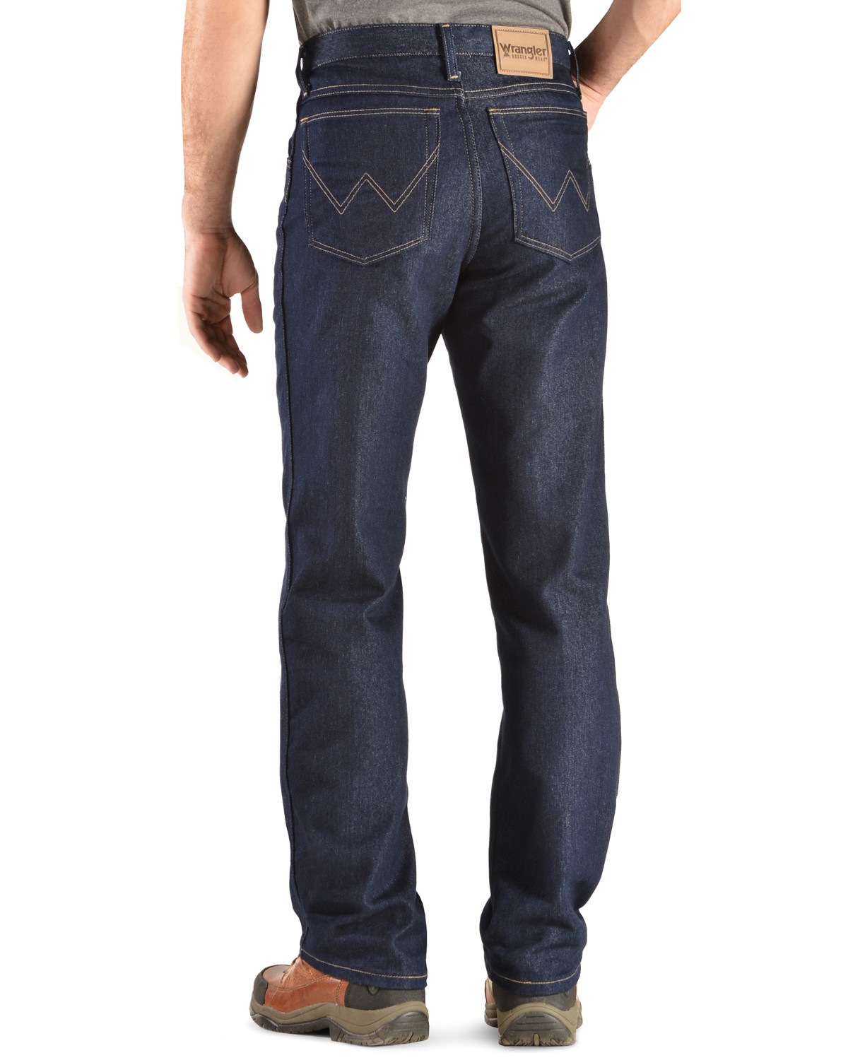 Wrangler Rugged Wear Stretch Regular Fit Jeans Indigo Hi Res