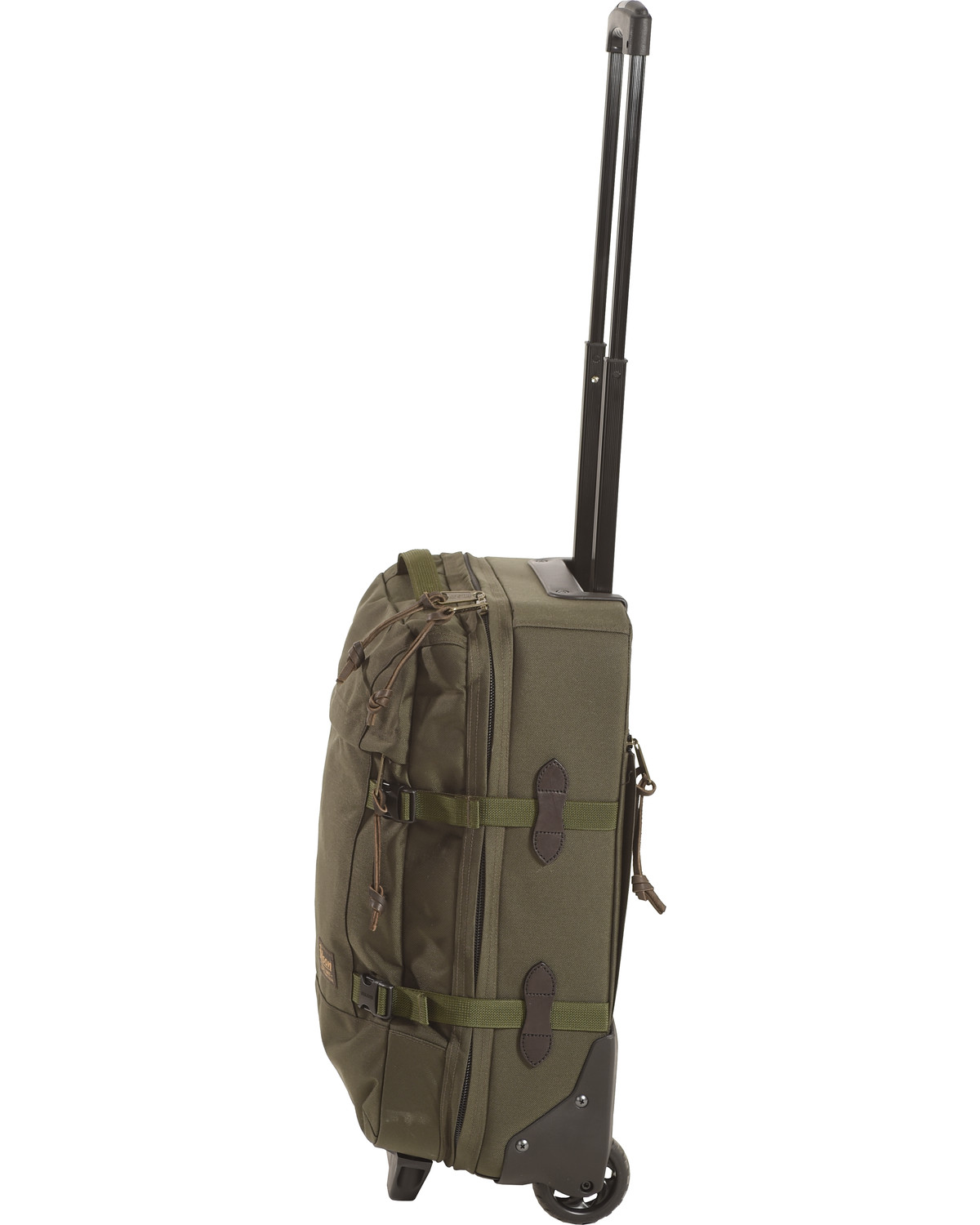 a7680c19fb Filson Otter Green Dryden 2-Wheel Carry-On Bag - Country Outfitter
