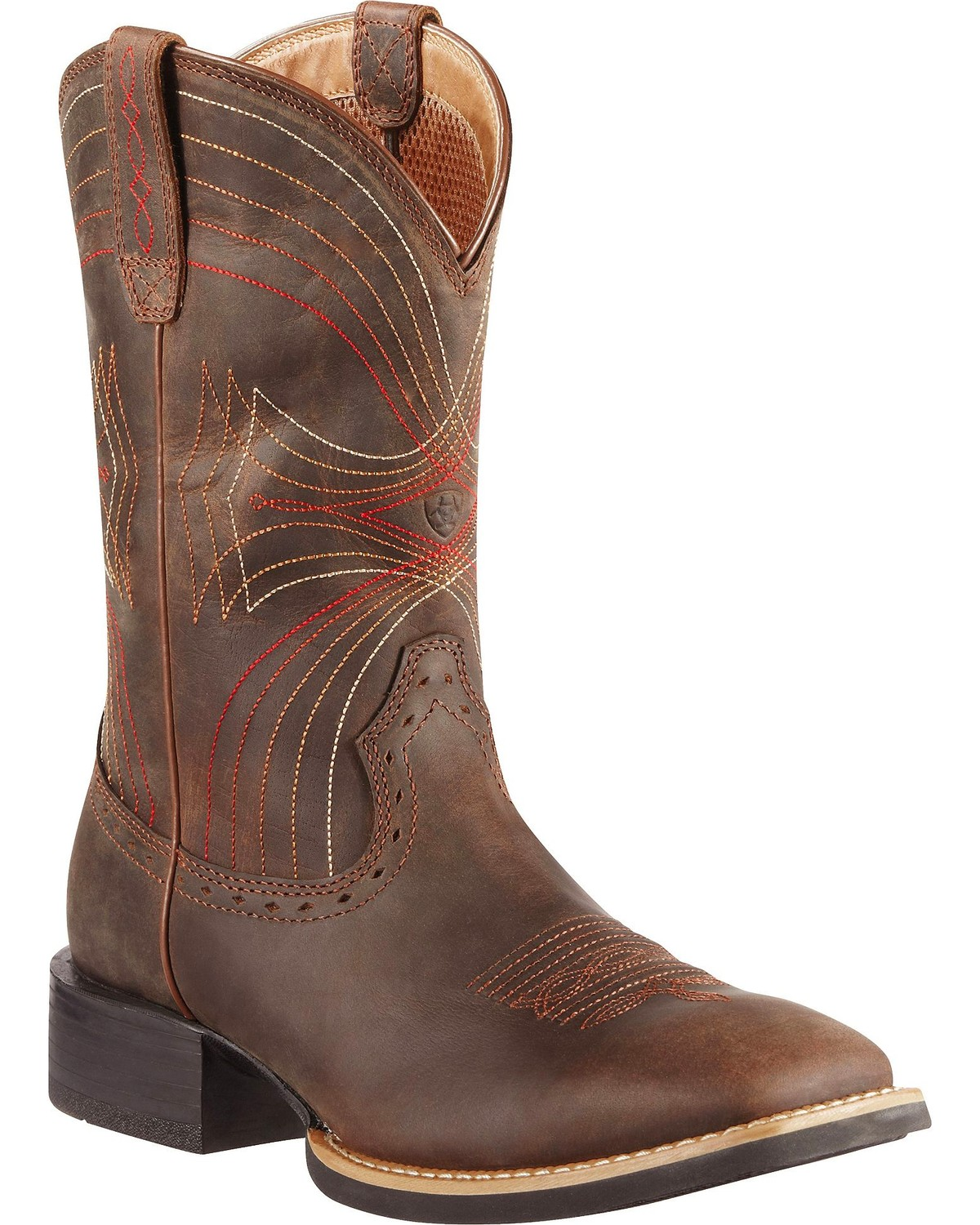 Ariat Sport Cowboy Boots Square Toe Country Outfitter