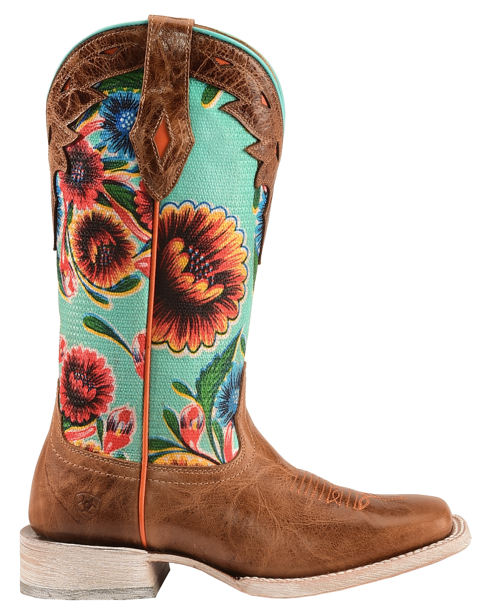 Ariat Floral Textile Circuit Champion Cowgirl Boots