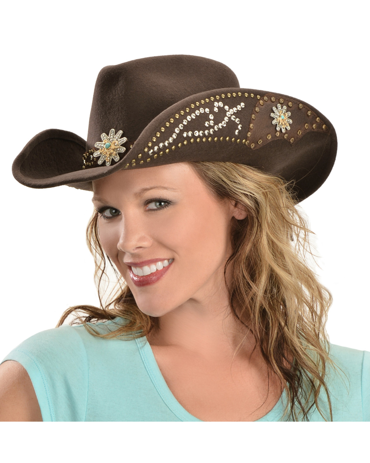 Bullhide Hats Women s Your Everything Embellished Felt Cowgirl Hat ... 101a2fbf28d