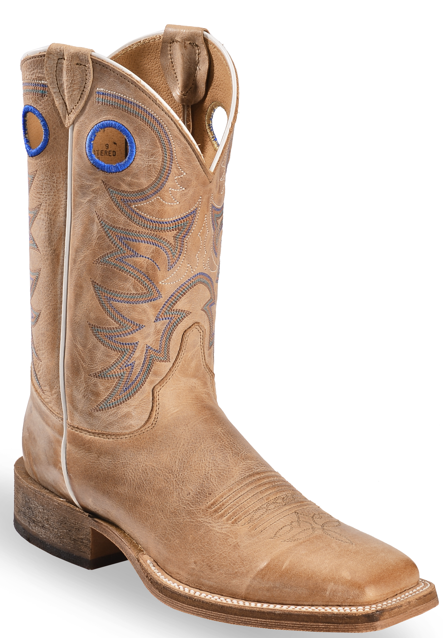 Justin Men S Bent Rail Cowboy Boots Square Toe Country