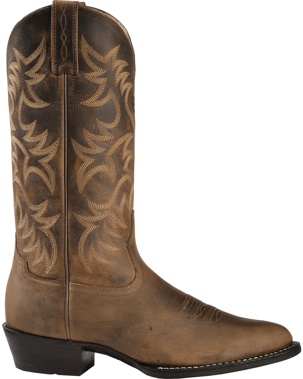 Ats On Demand >> Ariat Heritage Cowboy Boots - Medium Toe - Country Outfitter