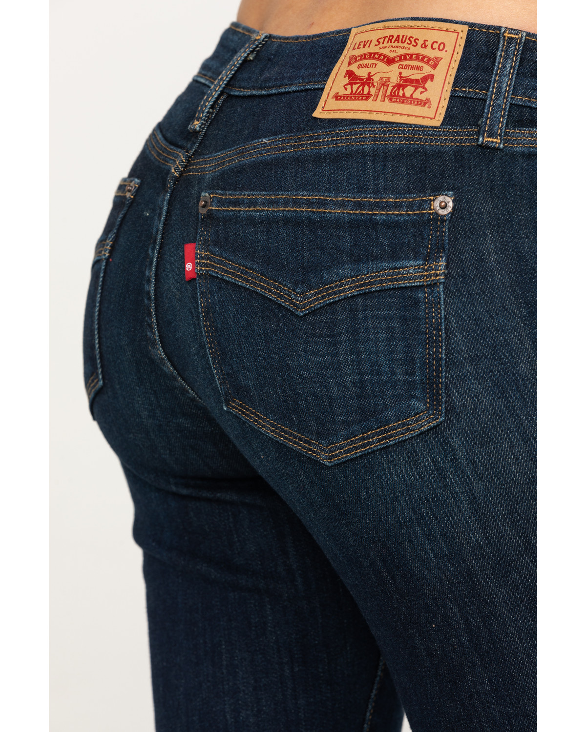 b0b768dface Levi's Women's 715 Wash Out Vintage Bootcut Jeans - Country Outfitter