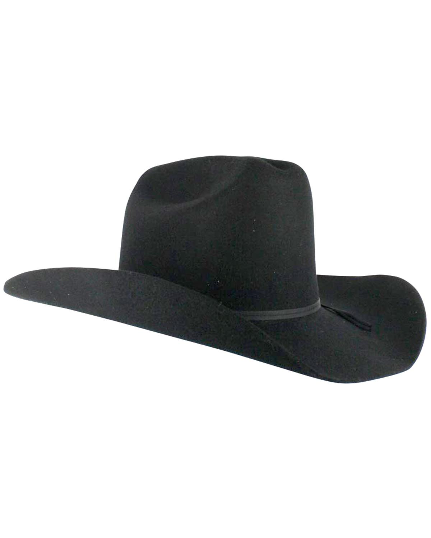 14d353f2026ef Cody James Men s Denver 2X Felt Cowboy Hat Black - Country Outfitter
