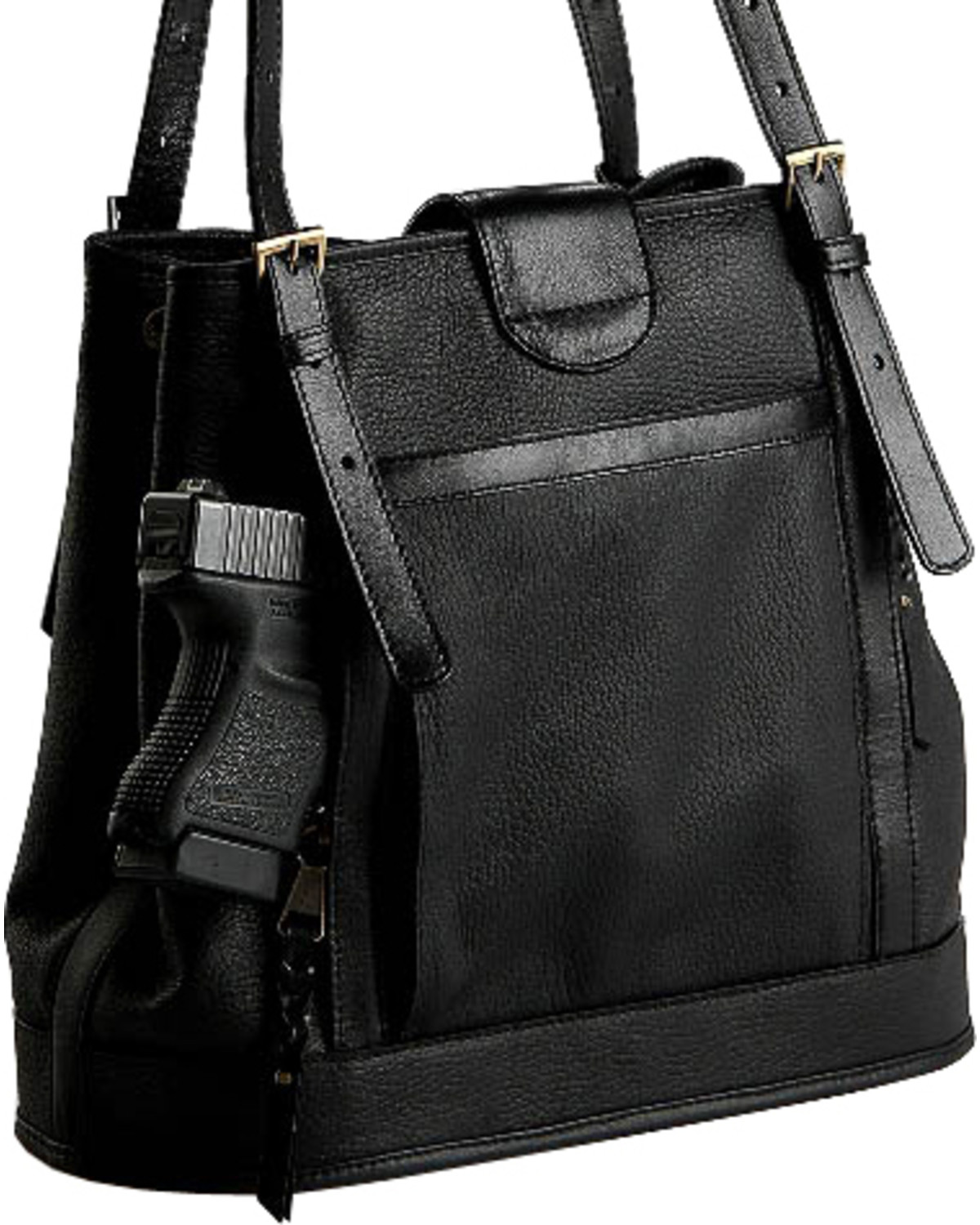 Designer Concealed Carry Black Palisade Tote Bag - Country Outfitter 26b6f17b3ef57