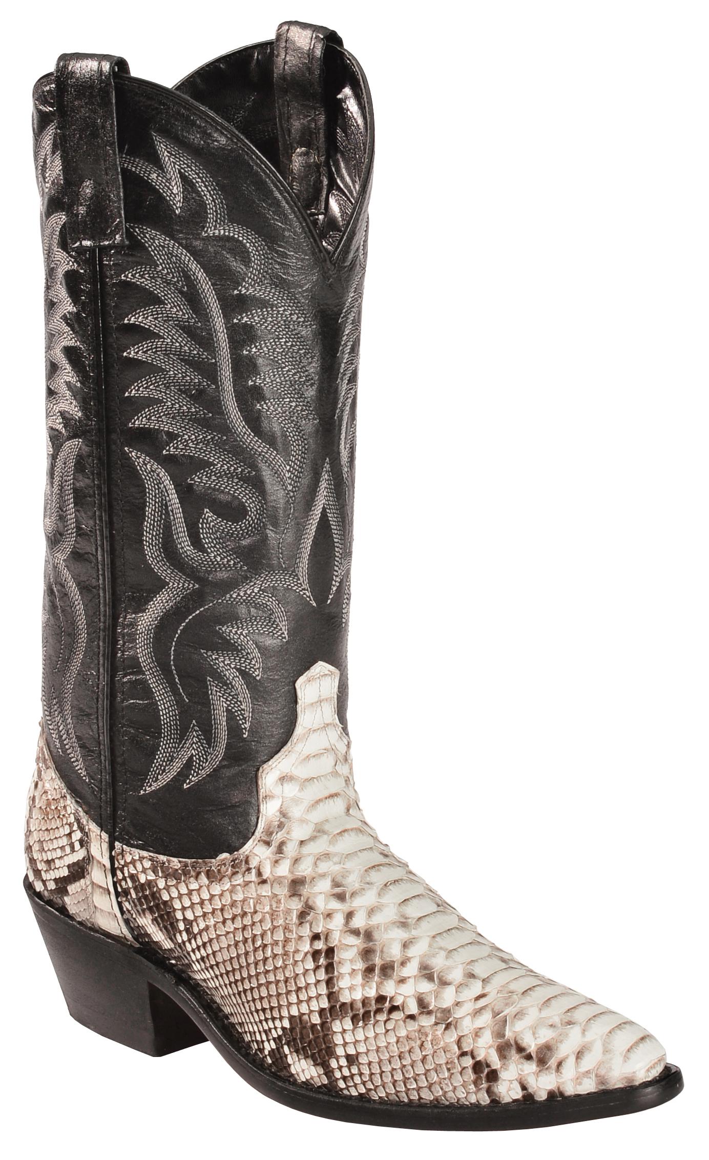 Laredo Key West Python Cowboy Boots Medium Toe Country