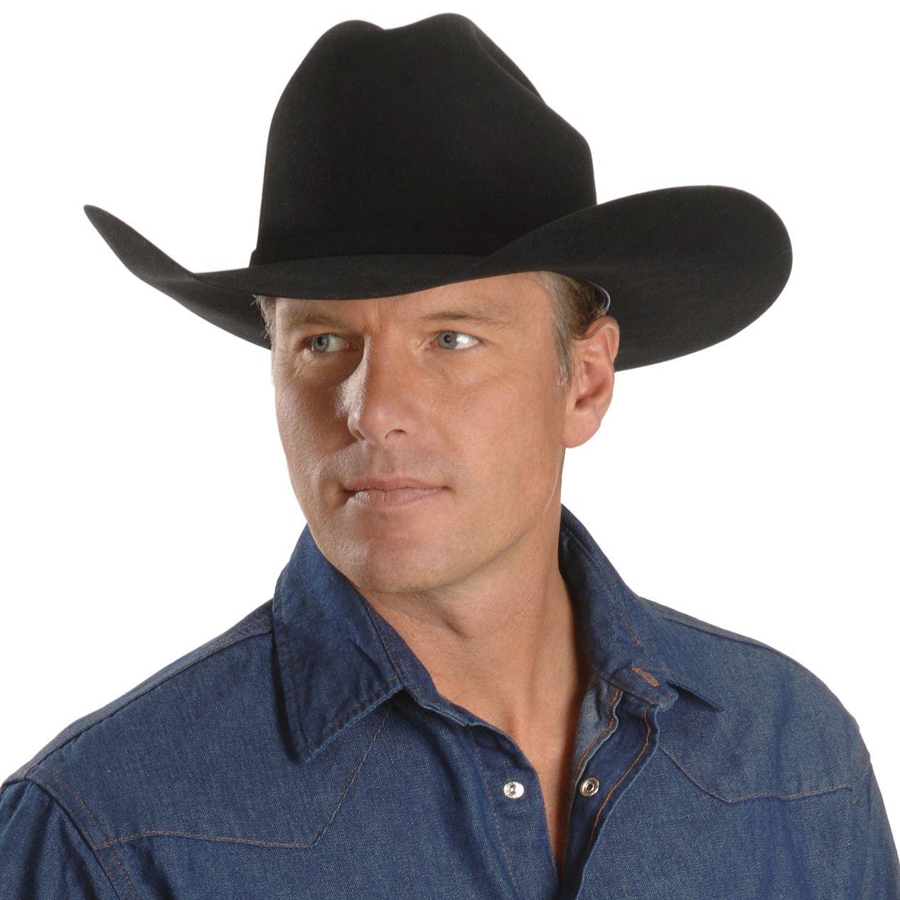 19d83d558c8 Justin 20X Fur Felt Cowboy Hat - Country Outfitter