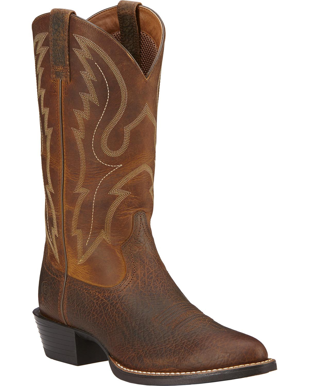 Ariat Sport Western Cowboy Boots Medium Toe Country