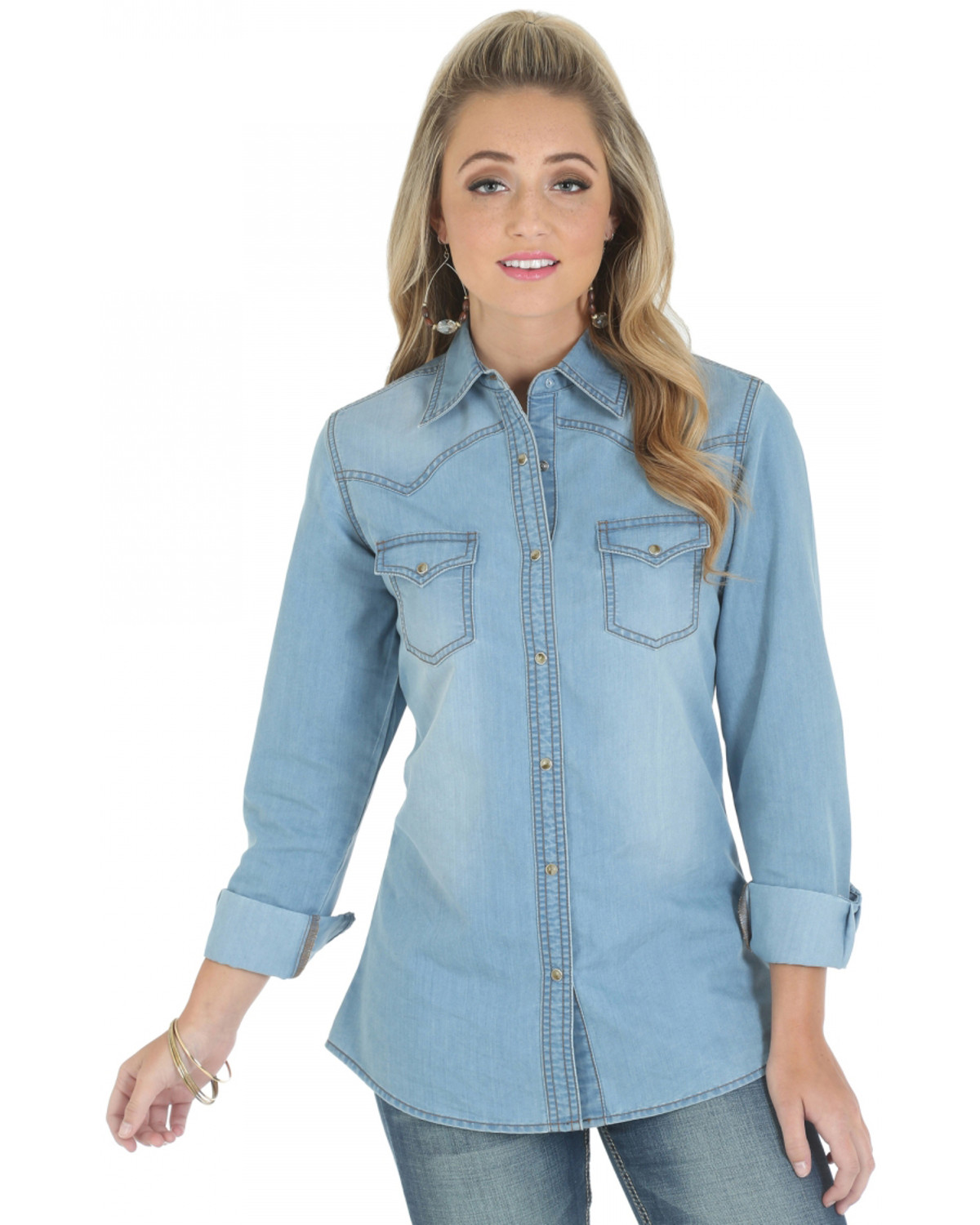 e18f53f5fa8c5f Female Denim Long Sleeve Shirt – EDGE Engineering and Consulting Limited