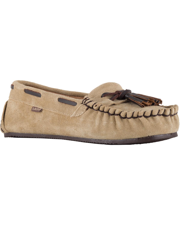 e841430b931 Lamo Women s Leah Tasseled Moccasins - Country Outfitter