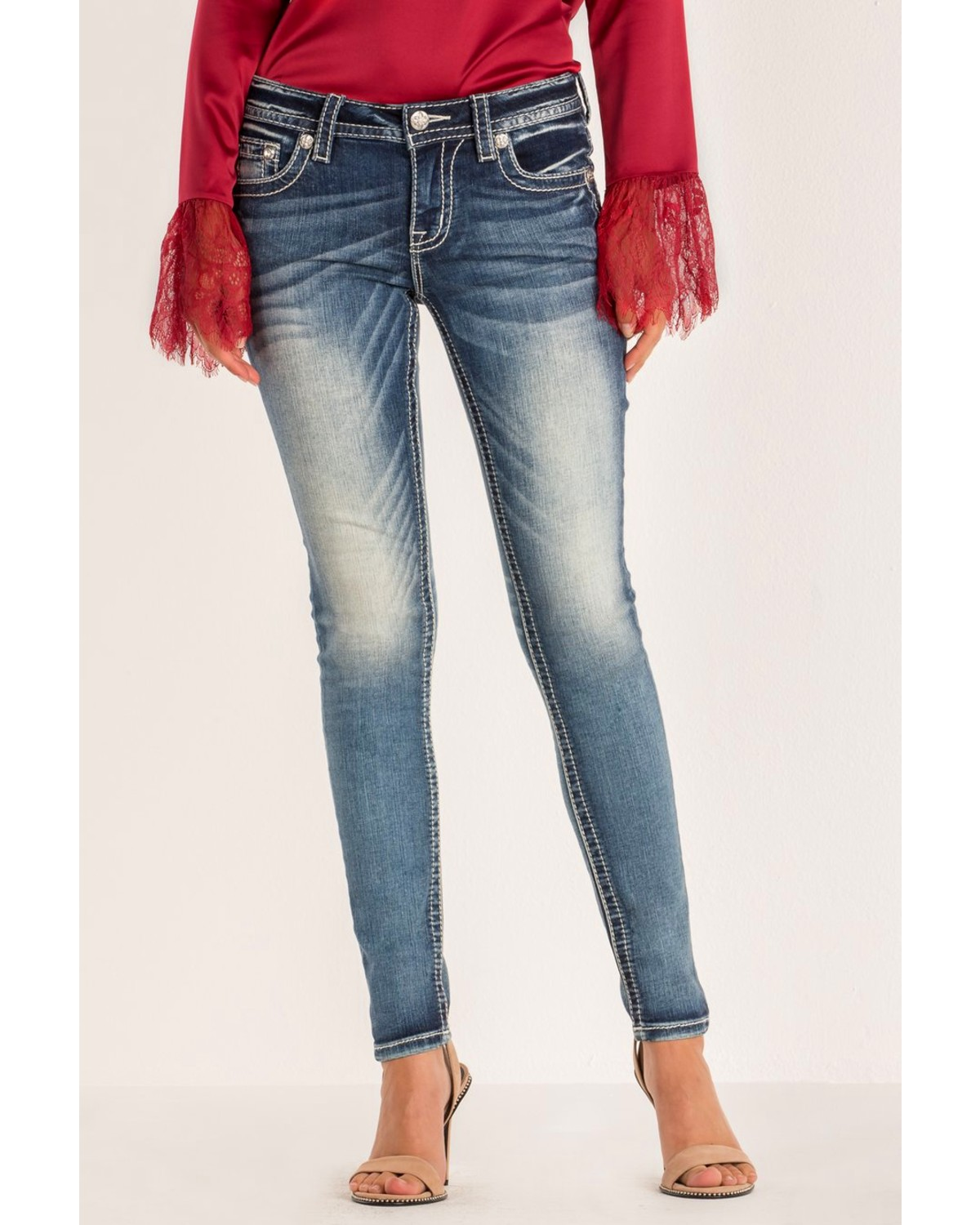 2ab2ea7792563 Miss Me Women s Hailey Skinny Jeans - Country Outfitter