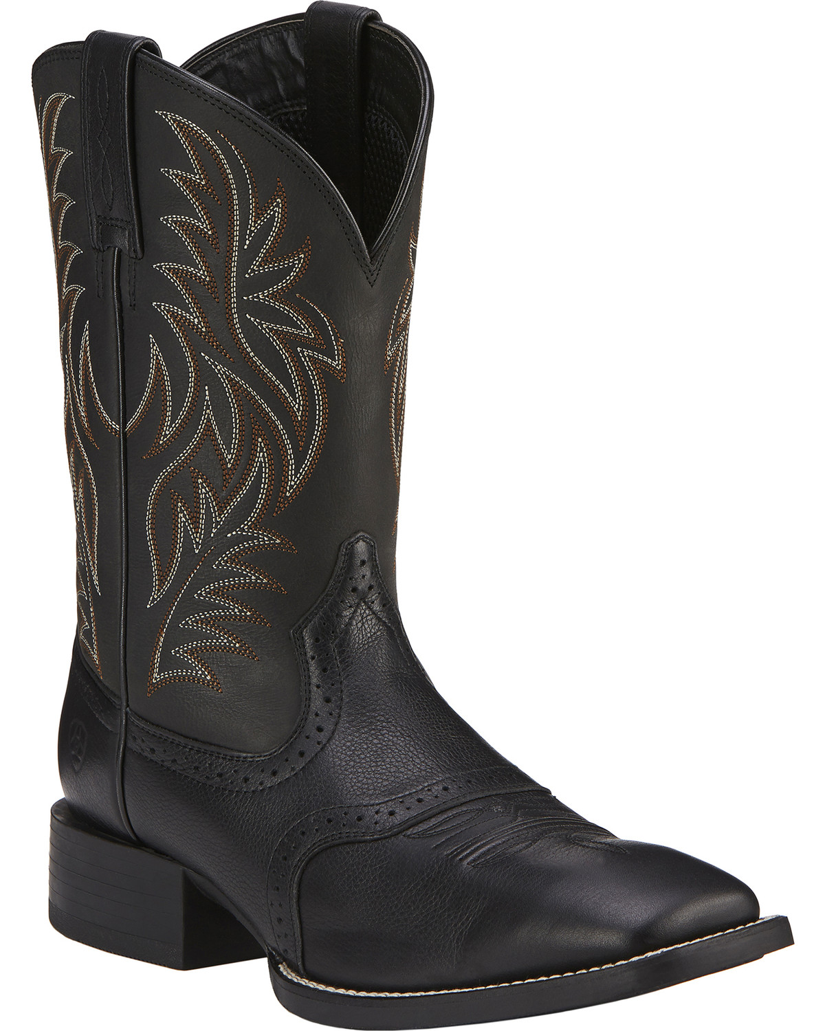 5122090fccb Wide Square Toe Cowgirl Boots - Ivoiregion