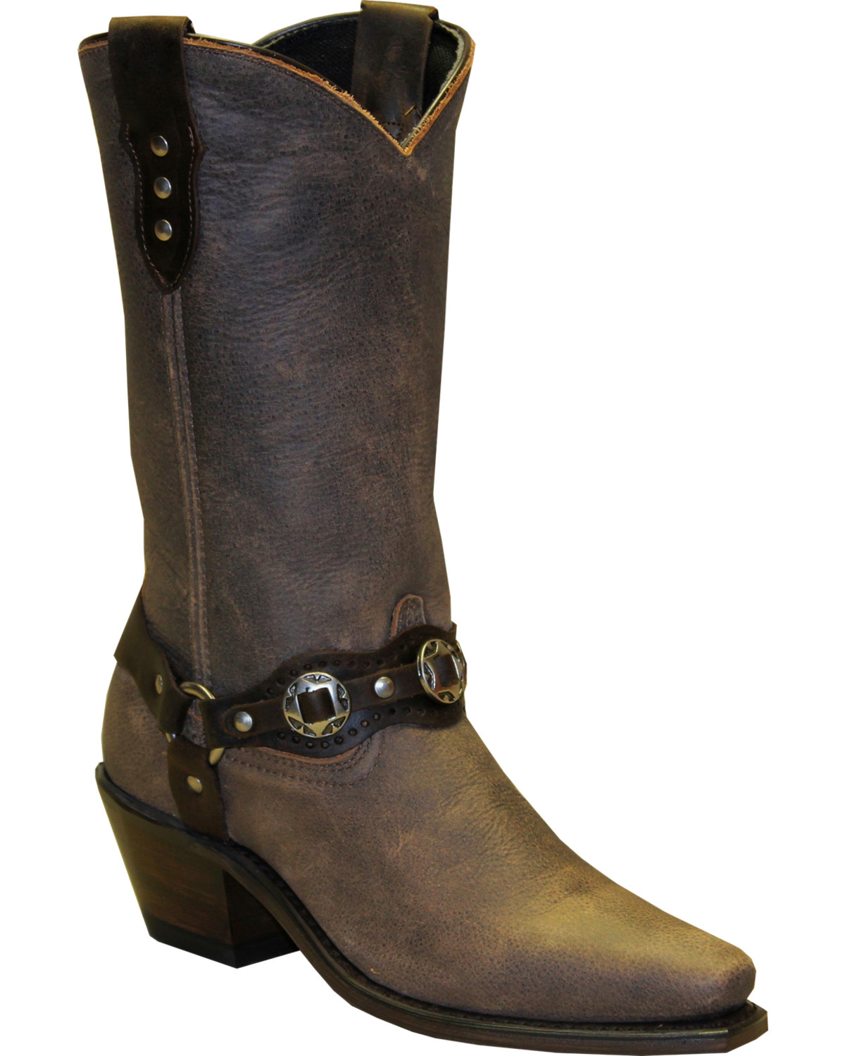 """Women's Sage by 11"""" Fashion Harness Western Boot Snip Toe - 4547"""