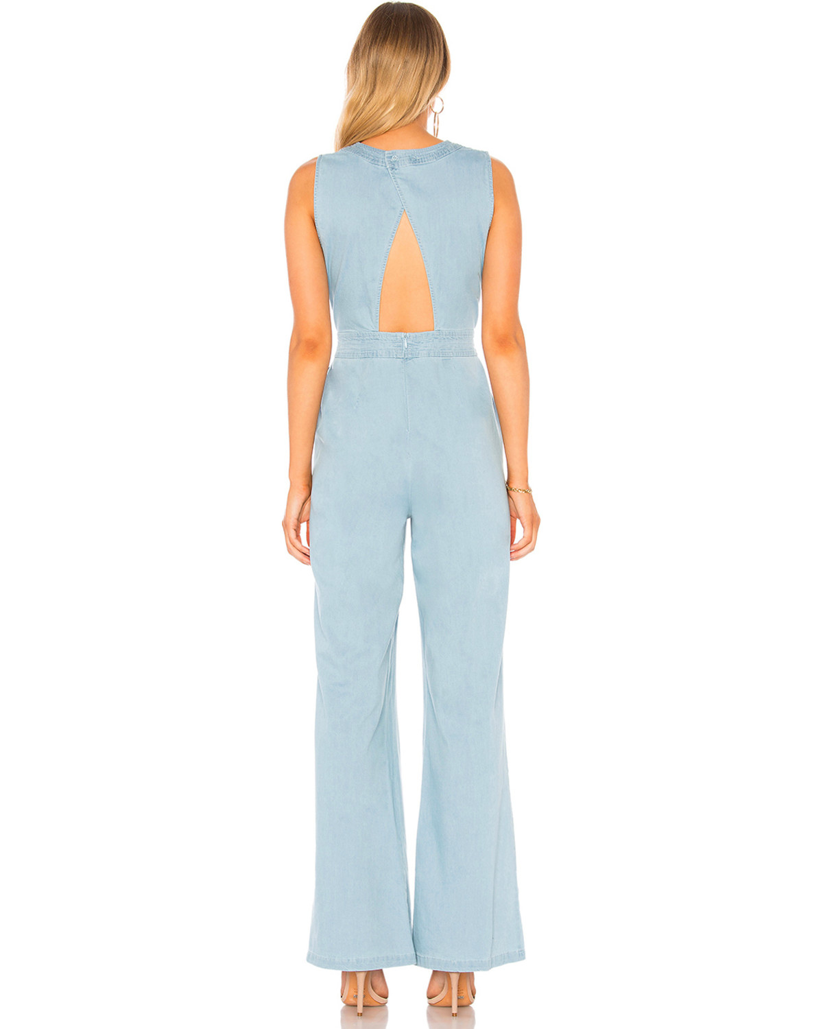 261190c306 Jack Women s Suko Stretch Chambray Jumpsuit - Country Outfitter