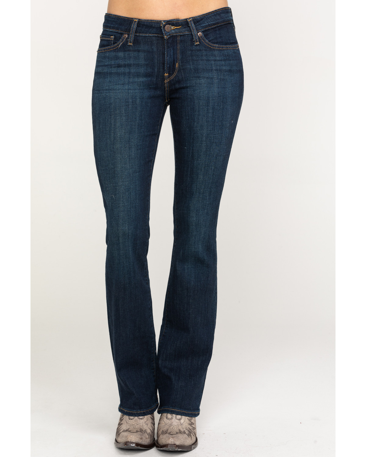 db121988ab8 Levi's Women's 715 Wash Out Vintage Bootcut Jeans - Country Outfitter