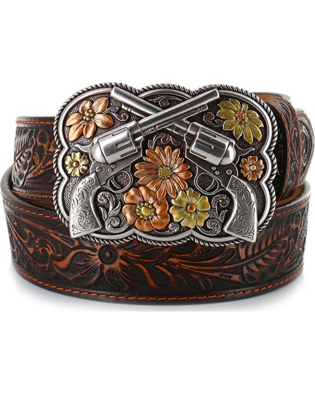 Justin Women S Bandit Queen Leather Belt Country Outfitter